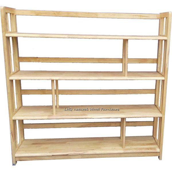 Kệ sách gỗ 4 tầng 1M